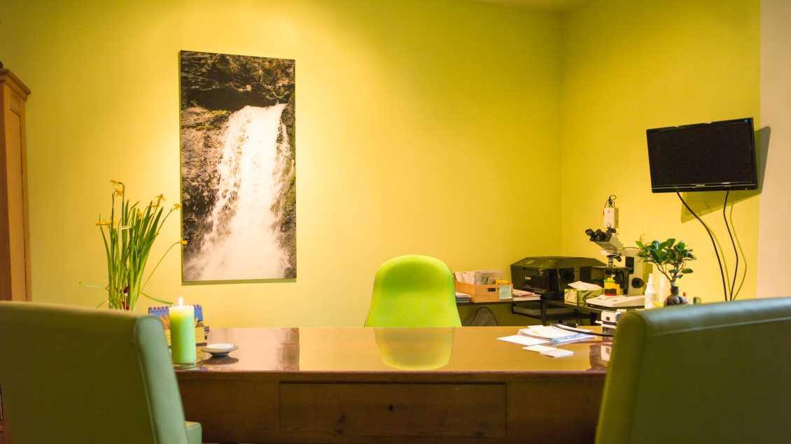 Bild der Praxisräume der Naturheilpraxis 2